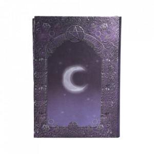 Set agendă / jurnal cu copertă în relief și pix Cartea vrăjilor
