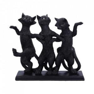 Set statuete Trei pisicute Elegante 25 cm