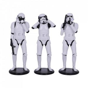 Set trei statuete Star Wars Trei soldati Intergalactici - 14 cm