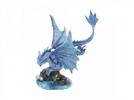 Statueta Age of Dragons - Dragon de apa adult - Anne Stokes - 31 cm