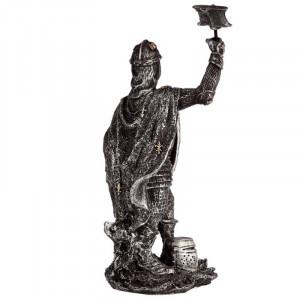 Statueta Cavaler Medieval Luptand 13 cm