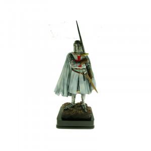 Statueta cavaler Templier cu spada 23 cm
