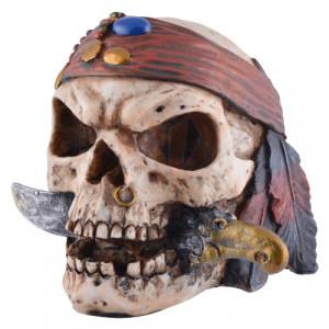 Statueta Craniu de Pirat 20cm