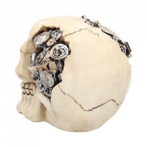 Statueta craniu steampunk Rotite 15 cm