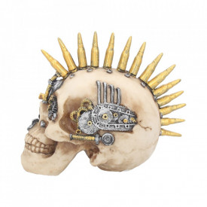 Statueta craniu steampunk Unelte de razboi 17.5 cm