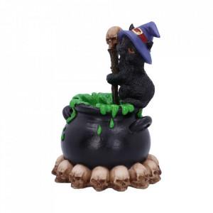 Statueta cu led Pisicuta Vrajitoare Spook 12 cm