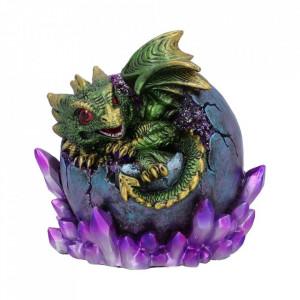 Statueta dragon Emerald Hatchling 12.5cm