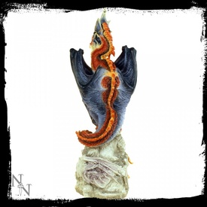 Statueta dragon Gardianul tacut 26 cm Andrew Bill