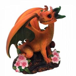 Statueta dragon Peach - Stanley Morrison 11cm