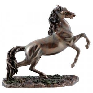 Statueta finisaj bronz Cal 16cm