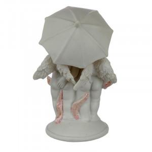 statueta ingeras sub umbreluta