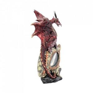 Statueta Ochiul dragonului rosu 21 cm