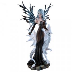 Statueta Zana si dragon Dragina 55cm