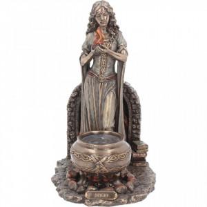 Statueta zeita celtica Brigid 24.5 cm