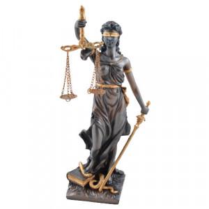 Statueta zeita dreptatii Justitia 21cm