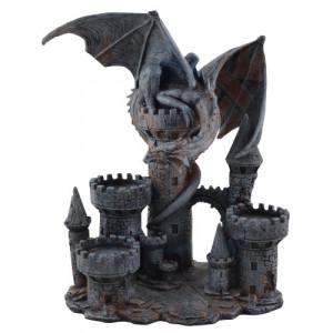 Suport lumanari dragon Aparatorul Castelului 24cm