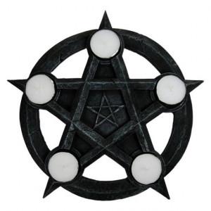 Suport lumanari Pentagrama 26cm