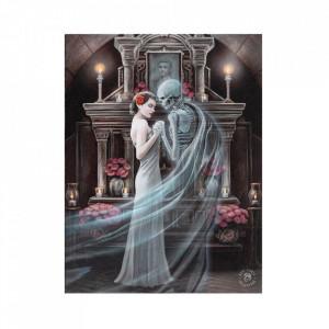 Tablou canvas, A ta pentru eternitate, 19x25cm - Anne Stokes