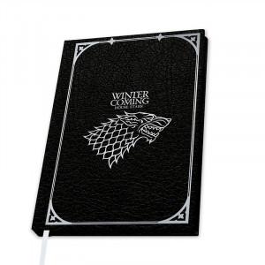 Agenda/Jurnal liceta Game of Thrones - Casa Stark