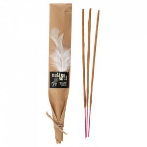 Betisoare de tamaie parfumate Native Soul - Salvie Alba si Palo Santo 23cm