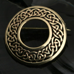 Brosa bronz Nod infinit