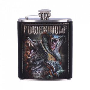 Butelcuta (plosca) inox pentru bauturi alcoolice Powerwolf
