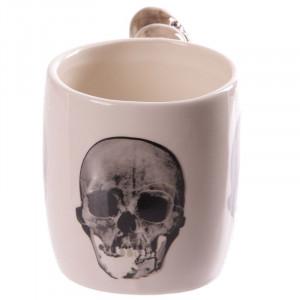 Cana ceramica Cranii 14cm