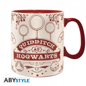 Cana ceramica licenta Harry Potter - Quidditch