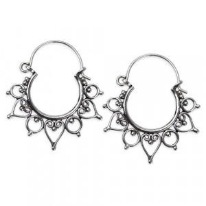 Cercei argint Ornament Indian O1005