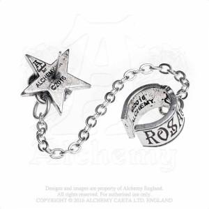 Cercel ear cuff Rosa Nocta