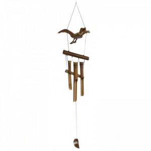 Clopotel de vant din trunchiuri de bambus Rata