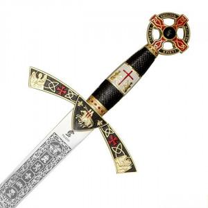 "Decoration only - ""Templar Sword"""