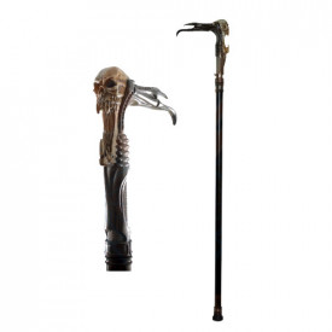 Decorative demon walking stick