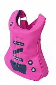 Guitar-shaped bag Pink Is The Color Of Passion