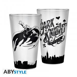 Pahar sticla licenta DC Comics - Batman, Dark Knight