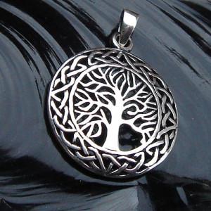 Pandantiv argint Copacul vietii 3.5cm