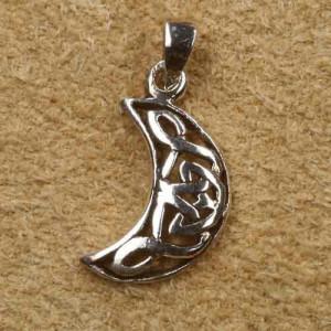 Pandantiv argint Semiluna