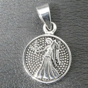 Pandantiv argint semn zodiacal Fecioara