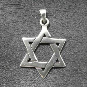 Pandantiv argint Steaua lui David