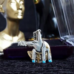 Pandantiv egiptean Anubis