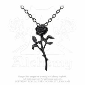 Pandantiv Iubirea trandafirului negru