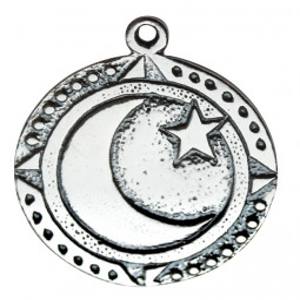 Pandantiv placat argint zodiac celtic Heusaf Y Gaeaf 10-31 Dec