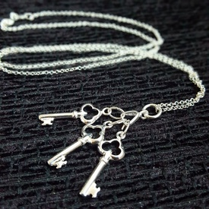 Pandantiv talisman Trei cheițe - argint