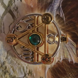 Pandantiv Talismanul elementelor - Zodii de Pământ