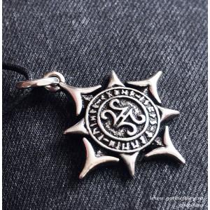 Pandantiv viking argint Steaua Aesir