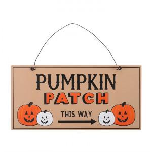 Placuta decorativa lemn Pumpkin Patch