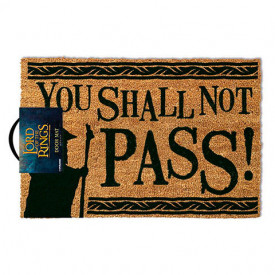 Pres usa licenta Lord of The Rings - You Shall Not Pass