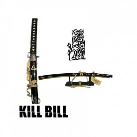 Sabie decorativa katana cu suport Kill Bill - Beatrix