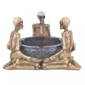 Scrumiera schelete Ritualul de dimineata