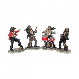 Set 4 statuete Formatia Rock Mortala 10 cm